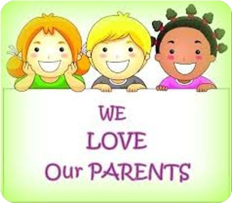 We love our parents.